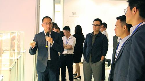 香港青年企业家研修交流团到我司参观