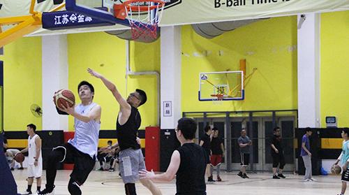 """u乐平台首届""""3×3""""篮球对抗赛落幕"""